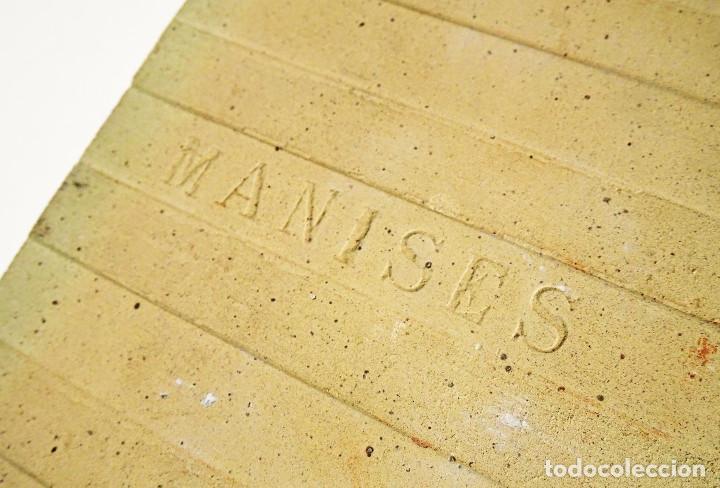 Antigüedades: EXTRAORDINARIO AZULEJO DE MANISES PINTADO POR EL CERAMISTA QUISMONDO FIRMADO CON RETRATO DE MANOLETE - Foto 7 - 117035683
