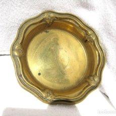 Antigüedades: PATENA EN BRONCE 250 GRS 14,7 CMS DE DIÁMETRO, BUEN ESTADO. Lote 117041299