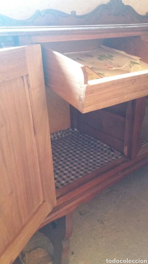 Antigüedades: Mueble aparador bajero - Foto 6 - 117041623