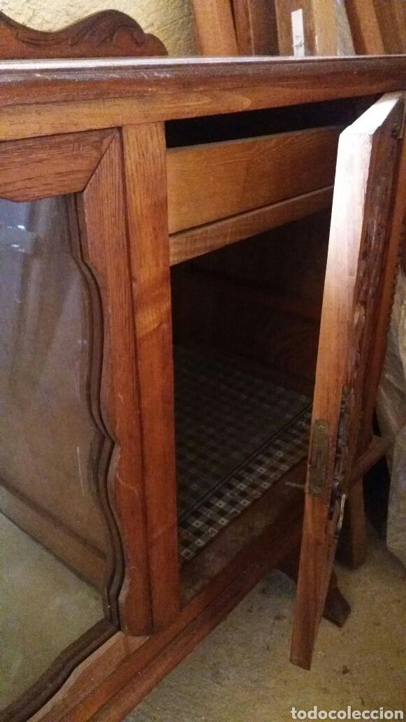 Antigüedades: Mueble aparador bajero - Foto 8 - 117041623