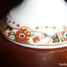 Antigüedades: FRUTERO PIE SAN CLAUDIO, 24 CMS. DIAMETRO 12 ALTO. DECORACION GUIRNALDAS . Lote 117069159
