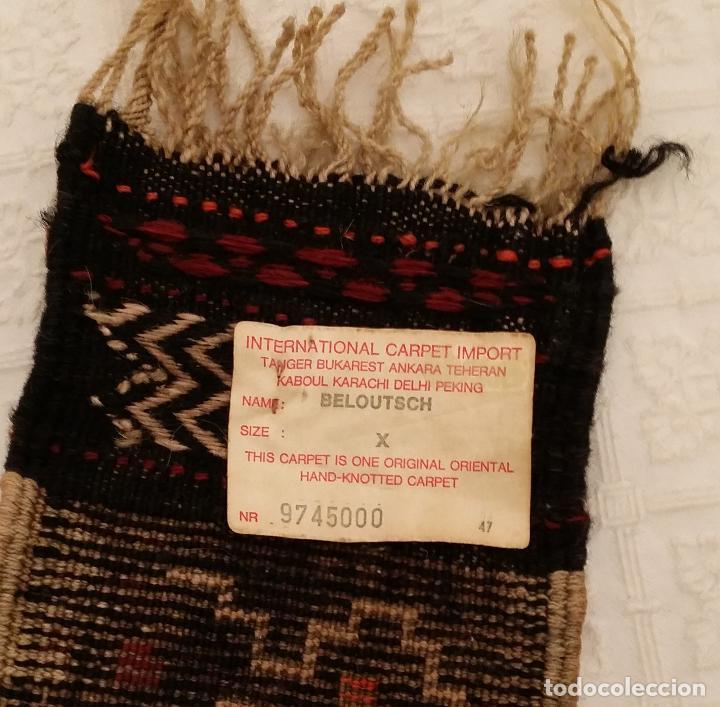 Antigüedades: Tejido afgano Beloutsch - Foto 10 - 117075603
