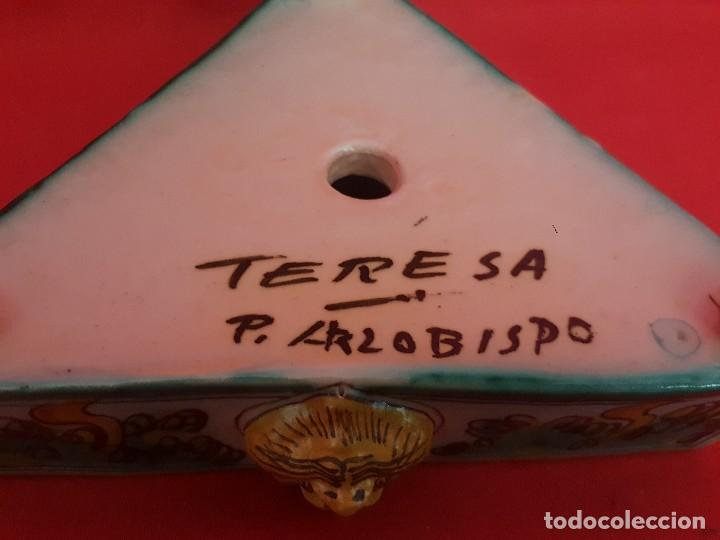 Antigüedades: Escribanía o tintero PUENTE DEL ARZOPISPO. - Foto 4 - 117120127