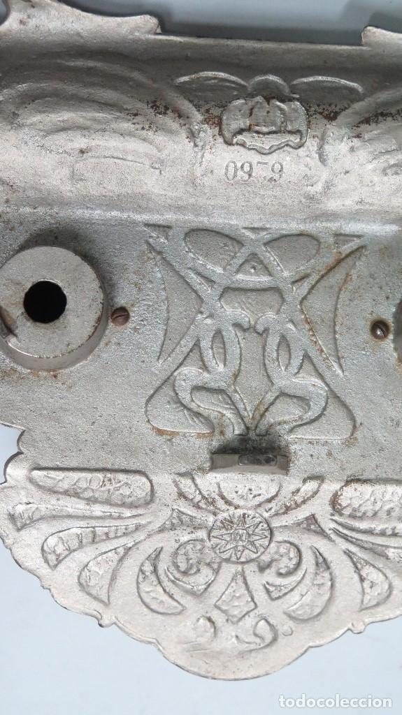 Antigüedades: PRECIOSA ESCRIBANIA DE HIERRO. ART NOUVEAU. SELLO FUNDICION. SIGLO XIX - Foto 6 - 117161015
