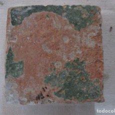Antigüedades: AZULEJO MUDEJAR SIGLO XVI O ANTERIOR. Lote 117169567