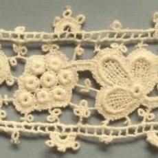 Antiquitäten - ANTIGUO ENCAJE DE GUIPUR S.XIX - 117176075