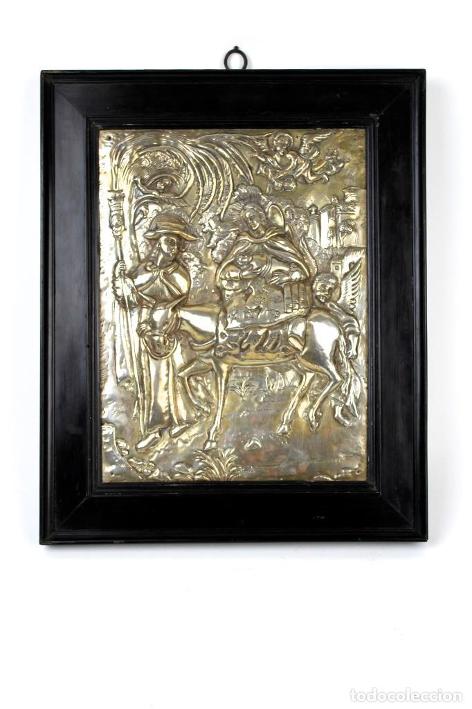 cuadro de imagen religiosa en plata repujada ,c - Comprar Objetos ...