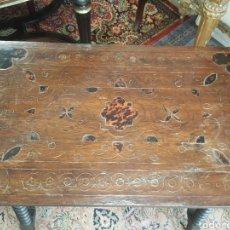 Antigüedades: MESA SAN ANTONIO / BARGUEÑERA / BARGUEÑO. Lote 117202914