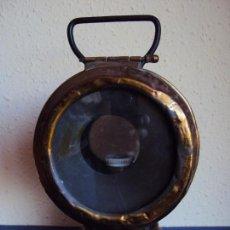 Antigüedades: (ANT-180417)FAROL LATERAL DE COLA PLACA DE RENFE - CASTEJON DE EBRO. Lote 117210983