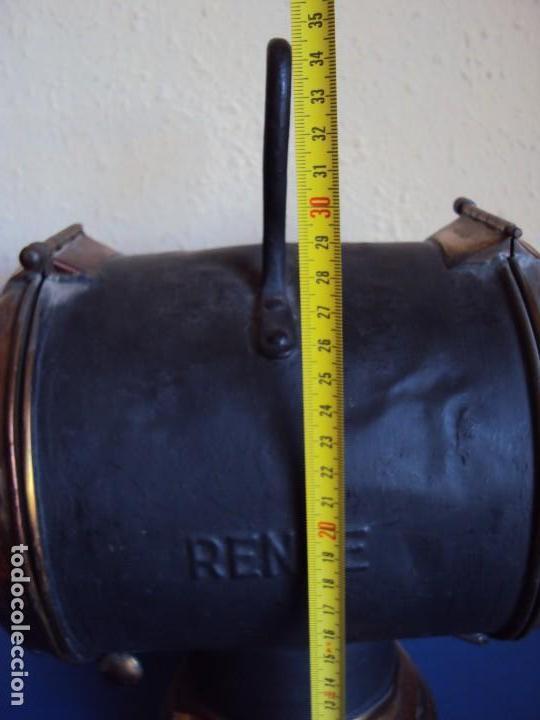 Antigüedades: (ANT-180417)FAROL LATERAL DE COLA PLACA DE RENFE - CASTEJON DE EBRO - Foto 7 - 117210983
