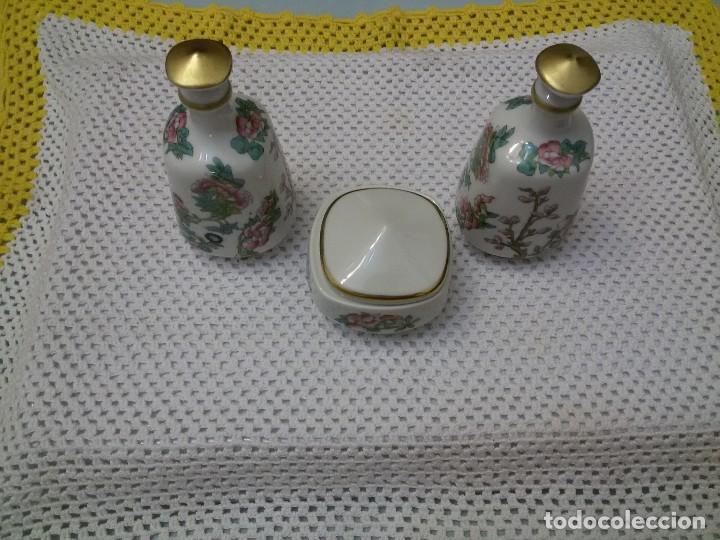 ANTIGUO JUEGO DE TOCADOR (Antigüedades - Porcelanas y Cerámicas - Santa Clara)