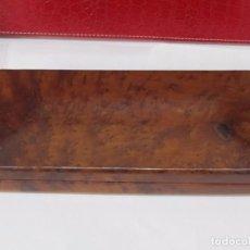 Antigüedades: CAJA DE MADERA ROBUSTA DE GRAN CALIDAD. Lote 117218011