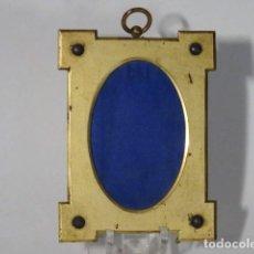 Antigüedades: MARCO DE BRONCE. Lote 117222559