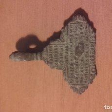 Antigüedades: 1453 MON - ANTIGUA CRUZ CON GRABADO LOBULADO. Lote 117245695