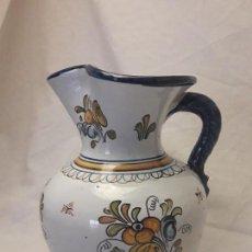 Antigüedades: JARRA DE VINO CERÁMICA TALAVERA EL CARMEN. Lote 117247223