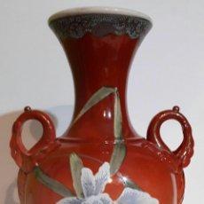 Antigüedades: GRAN, EXCEPCIONAL Y RARO BÚCARO JAPONES FIRMADO ART NOUVEAU .. Lote 117259880