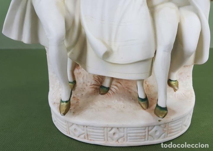 Antigüedades: BAILARINES. CENTRO DE MESA. ESCULTURA DE BISCUIT. PORCELANA. ALEMANIA. SIGLO XX. - Foto 4 - 117297855