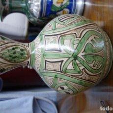 Antigüedades: JARRON DE LOZA DE TERUEL SIGLOXX . Lote 117301119