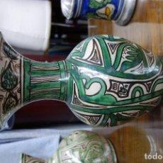 Antigüedades: JARRON DE LOZA DE TERUEL SIGLOXX . Lote 117301451