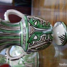 Antigüedades: JARRON DE LOZA DE TERUEL SIGLOXX . Lote 117301659