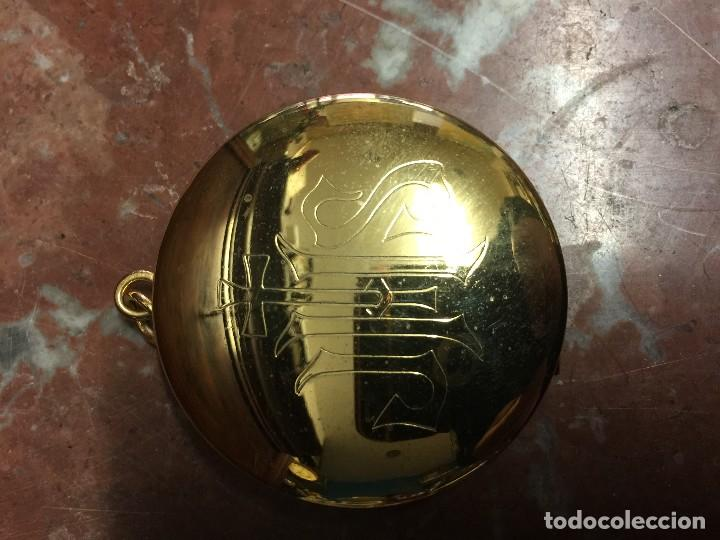 Antigüedades: Caja Porta Hostias u Hostiero - Foto 5 - 117304135