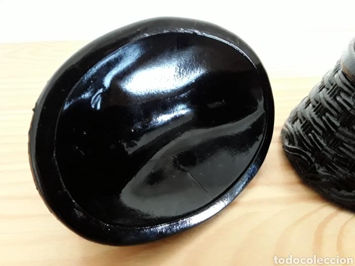 Antiquitäten: Gallina de opalina negra. Salero de pellizco - Foto 8 - 117310680