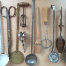 Antigüedades: UTENSILIOS DE HOGAR ANTIGUOS. Lote 106597323