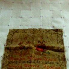 Antigüedades: ANTIGUO TAPIZ 1890. Lote 117332882