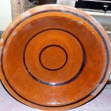 Antigüedades: ANTIGUO LEBRILLO, DIAMETRO 35 CM , SANO. Lote 117341087