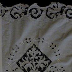 Antigüedades: ANTIGUA PIEZA DE ENCAJE RICHELIEU - PRINCIPIO S.XX. Lote 117351423