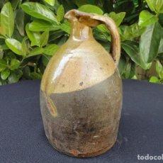 Antigüedades: ALFARERÍA ARAGONESA: ACEITERA DE ALCORISA (TERUEL). Lote 117353499