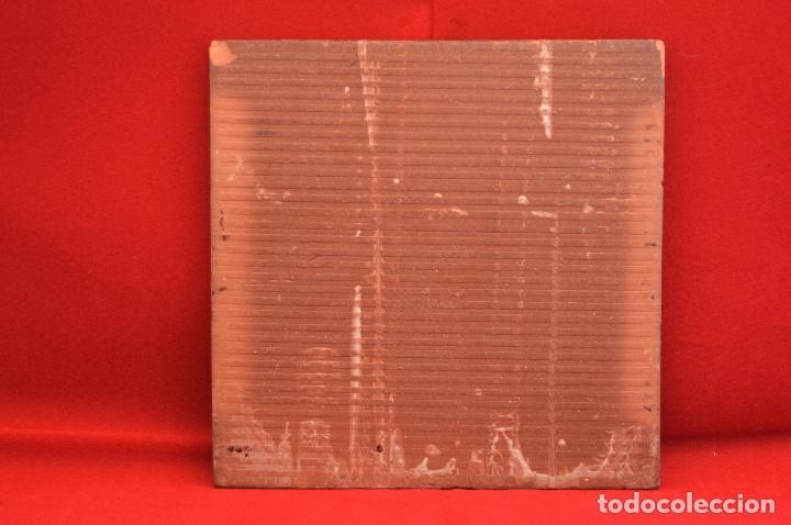 Antigüedades: BALDOSA CATALUNYA ESQUERRA REPUBLICANA CATALUÑA 15X15CM - Foto 3 - 52953470
