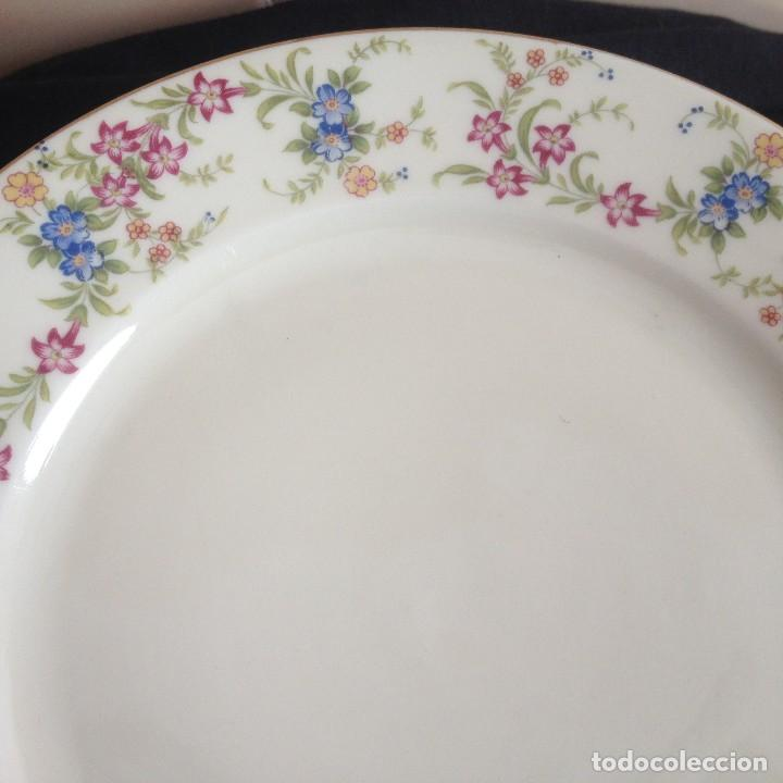 Antigüedades: Lote de 11 platos de porcelana de postre.johann seltmann vohenstraub cualitats porzelaine,bavaria. - Foto 4 - 117387903
