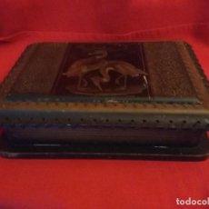 Antigüedades: CAJA MADERA ANTIGUA XIX. Lote 117414523