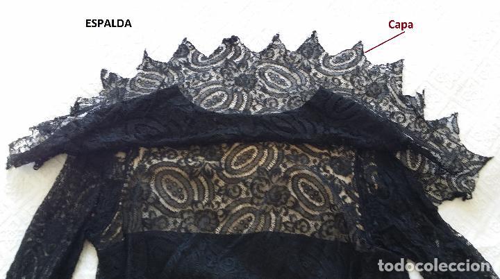 Antigüedades: Autentico vestido de encaje Art Deco - Foto 16 - 117435671