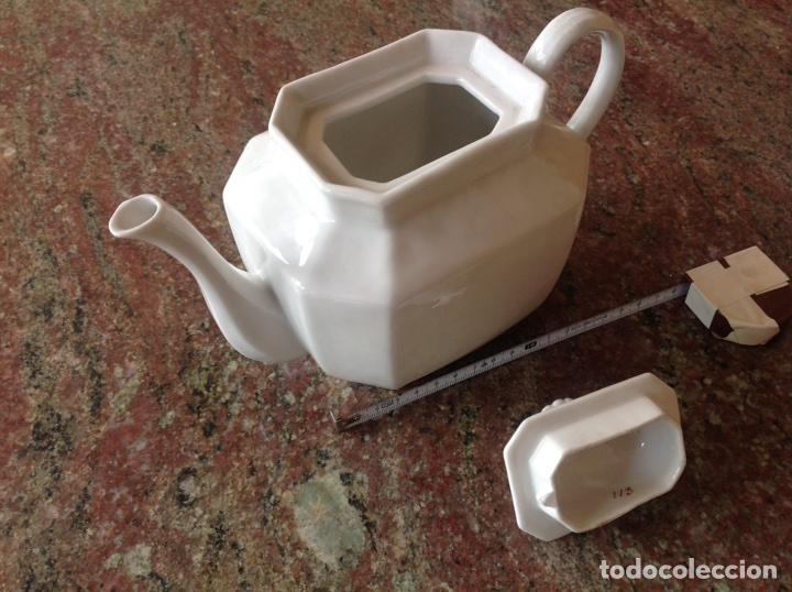 Antigüedades: Tetera blanca numerada - Foto 3 - 117439256