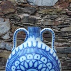 Antigüedades: CANTIMPLORA ,BOTIJO EN CERÁMICA LEVANTINA ,ANDALUZA. Lote 117453343