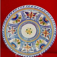 Antigüedades: PLATO CERAMICA PUENTE DEL ARZOBISPO 28 CM DE DIAMETRO. Lote 70200561