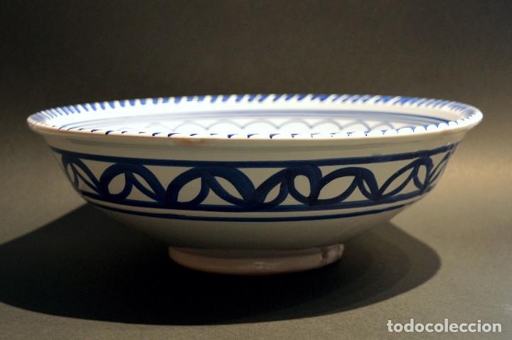 Antigüedades: FRUTERO DE CERAMICA PUENTE DEL ARZOBISPO TAMAÑO GRANDE - Foto 3 - 192074216