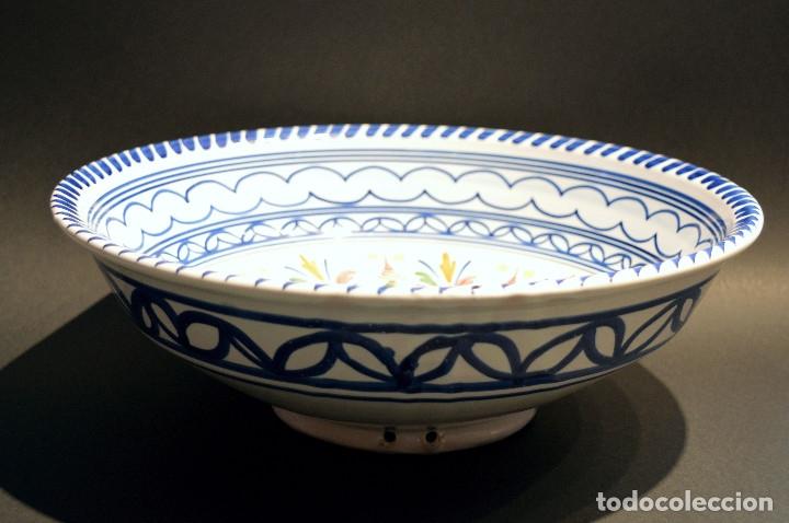 Antigüedades: FRUTERO DE CERAMICA PUENTE DEL ARZOBISPO TAMAÑO GRANDE - Foto 4 - 192074216