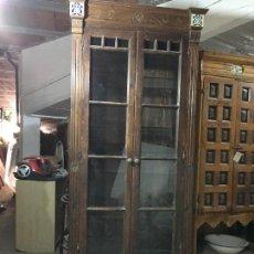 Antigüedades: MUEBLE COLUMNA VITRINA. Lote 117486019