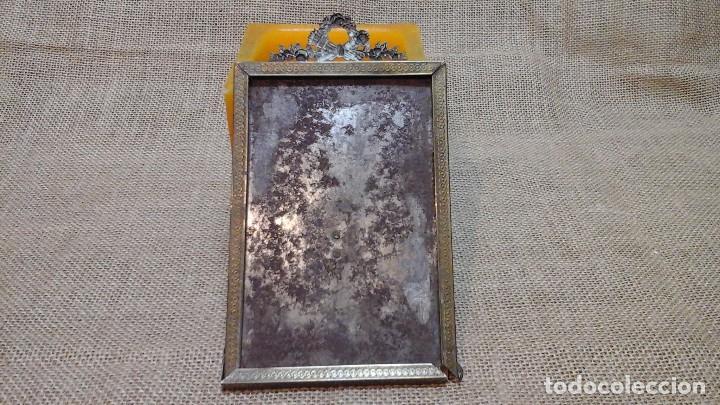 Antigüedades: Marco o portafotos en bronce . Siglo XIX - Foto 5 - 117487015