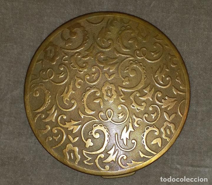 Antigüedades: Gran polvera Art Deco - Foto 2 - 117508615
