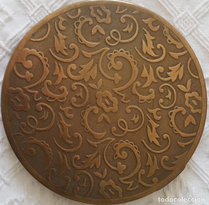 Antigüedades: Gran polvera Art Deco - Foto 3 - 117508615