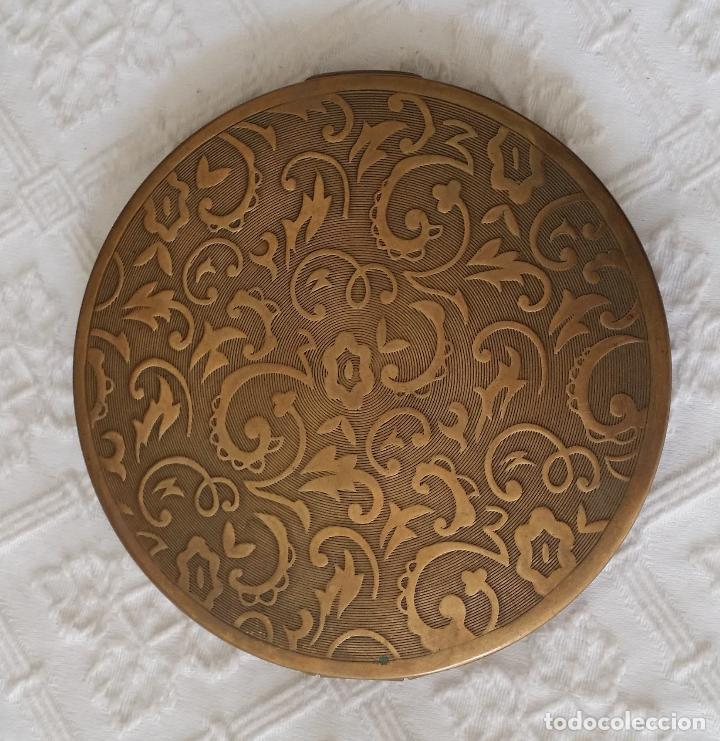 Antigüedades: Gran polvera Art Deco - Foto 4 - 117508615