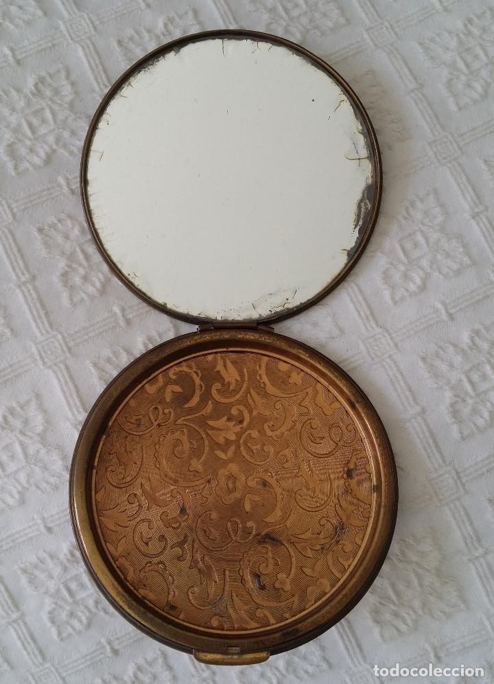 Antigüedades: Gran polvera Art Deco - Foto 6 - 117508615