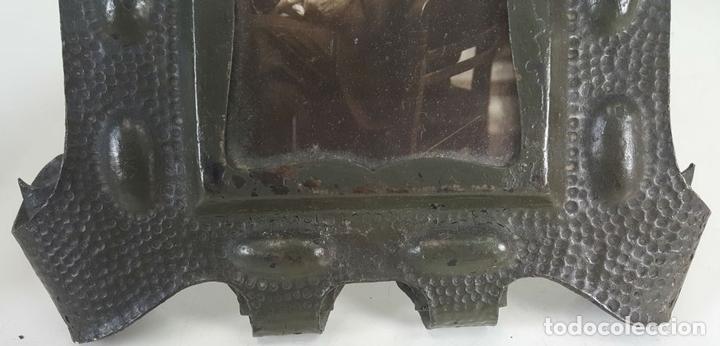 Antigüedades: CONJUNTO DE 3 MARCOS. HIERRO FORJADO. SIGLO XIX-XX. - Foto 4 - 117521467
