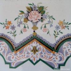Antigüedades: ANTIGUO AZULEJO MODERNISTA - VALENCIA. Lote 117526743
