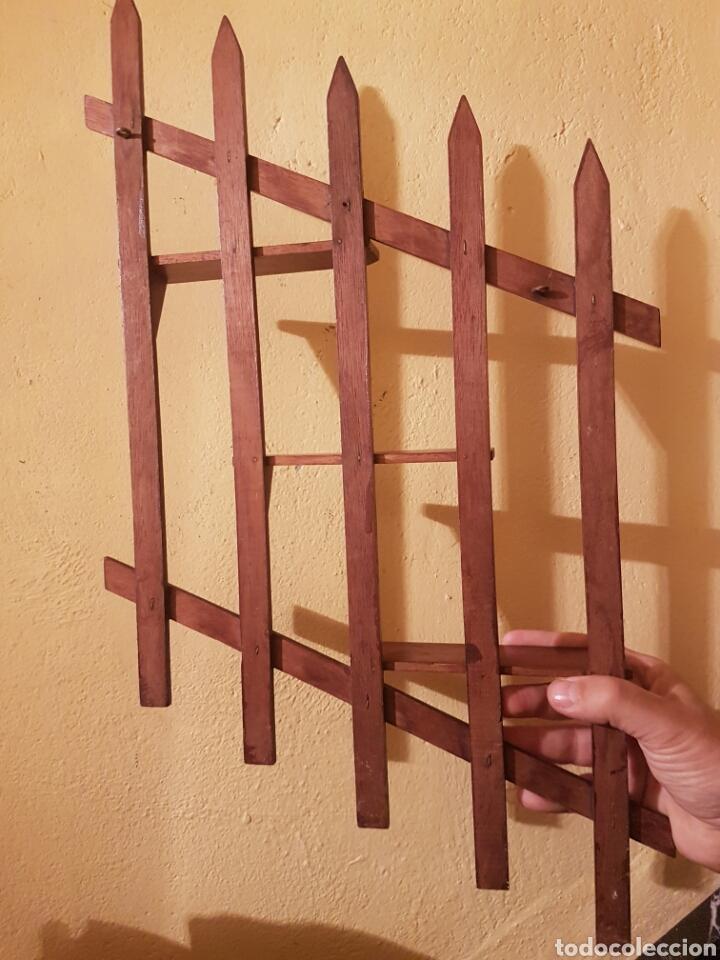 Antigüedades: MUY BONITA Y FINA PAREJA DE REPISAS REALIZADAS EN CAOBA - Foto 5 - 117545820