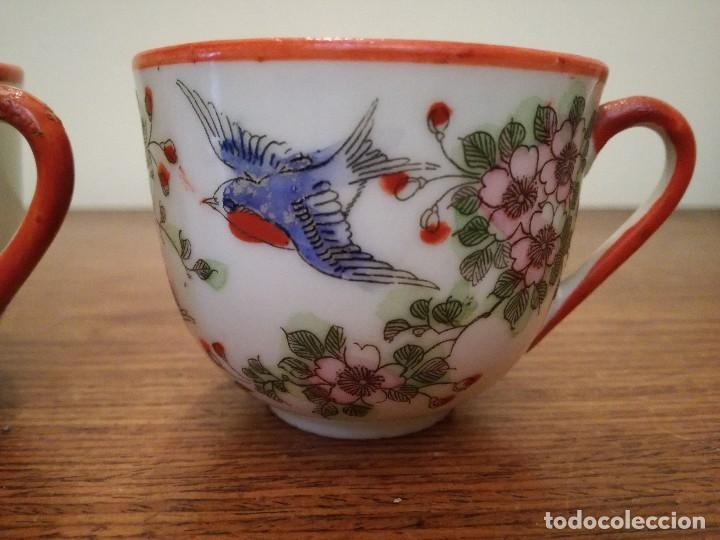 Antigüedades: Pareja de delicadas y antiguas tazas chinas. Ver descripción. - Foto 2 - 117547591